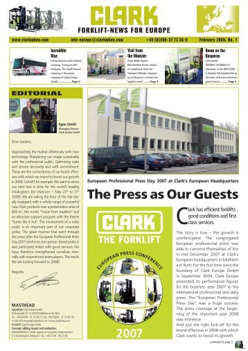 Download February edition of the Clark News Magazine - Forktruck ...