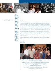 Alumni Newsletter, Winter 2009 - The Steppingstone Foundation