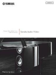 Katalog Yamaha 2009-2010 PL - AUDIO KLAN