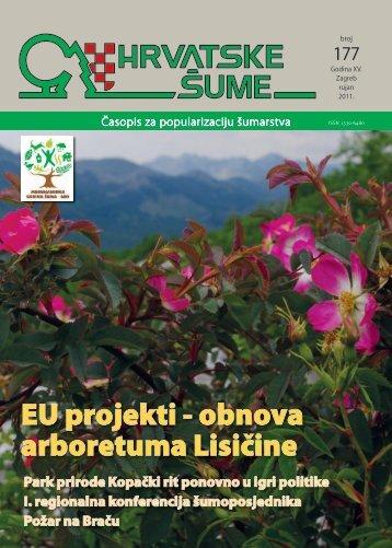 Obnova arboretuma Lisičine u sklopu projekta ... - Hrvatske šume