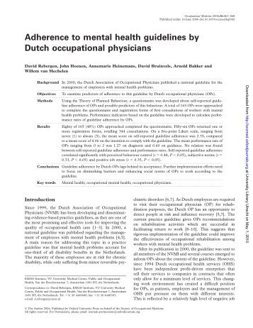 curtin occupational therapy handbook