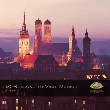 10 REASONS TO VISIT MUNICH