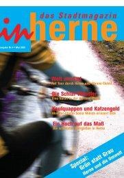 Ausgabe Nr.4 • Mai 2003 - Stadt Herne