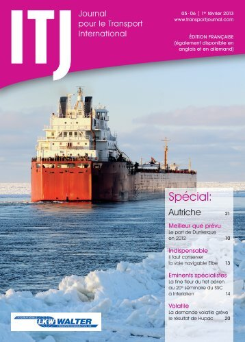 Lire maintenant - ITJ | Transport Journal