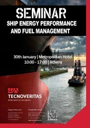 ship energy performance and fuel management - Tecnoveritas.net