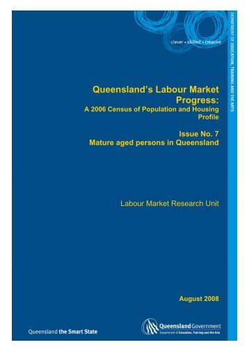 Issue 7 - Mature aged persons in Queensland [PDF 245kB]