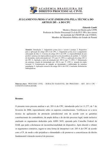 Artigo 652 do cpc