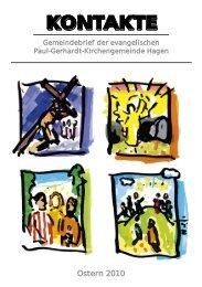 Gemeindebrief 2010-01 - Evangelische Paul-Gerhardt ...