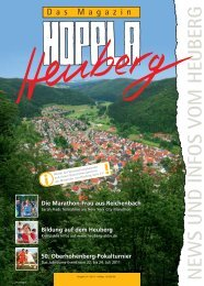 NEWS UND INFOS VOM HEUBERG - Heuberg aktiv