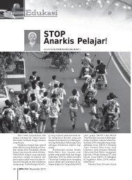 STOP Anarkis Pelajar! - Kemenag Jatim
