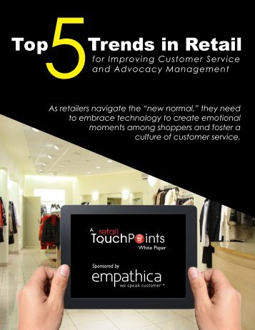Top Trends in Retail - Empathica