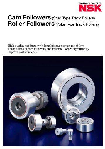 Cam Followers(Stud Type Track Rollers) Roller Followers(Yoke ...