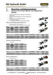 01 - Hauptkatalog 2013 V3 - KW Hydraulik GmbH