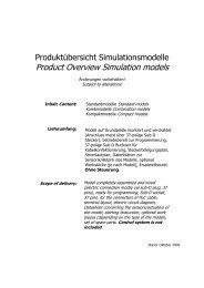 Product Overview Simulation models - FELTRON Elektronik ...