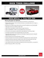 Dodge RAM 3500 - Isuzu Truck Challenge