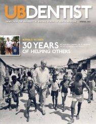 of helping others - UB Dental Alumni Association