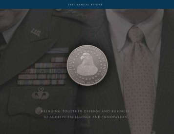 2007 Annual Report - Institute for Defense & Business