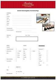 Download: bankettanfrage.pdf - Residenz-Gaststätten