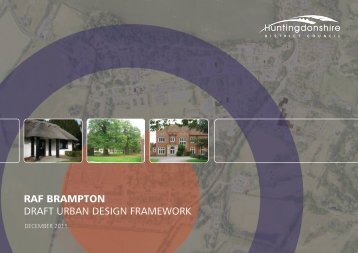RAF Brampton Urban Design Framework - Huntingdonshire District ...