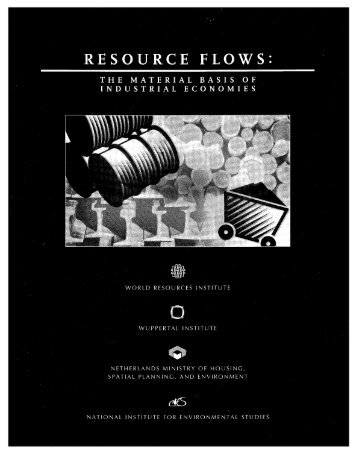 RESOURCE FLOWS - World Resources Institute