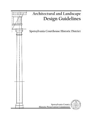 Design Guidelines - Spotsylvania County