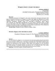 Rezumat Nr.30 - caiete de drept international