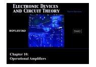 Chapter 10: Operational Amplifiers - Webstaff.kmutt.ac.th