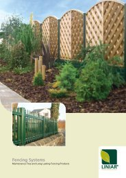 Fencing Systems Brochure - Barbour Product Search