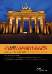 THE 15TH PCI CONSULTING GROUP - FiberSource