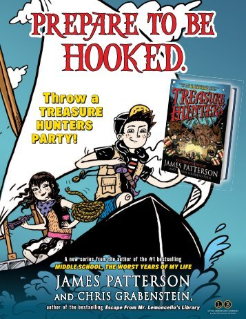 JAMES PATTERSON - Treasure Hunters