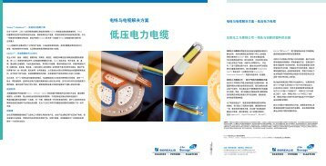 American Made Low Voltage Cable Solutions utions - tappan wire ...