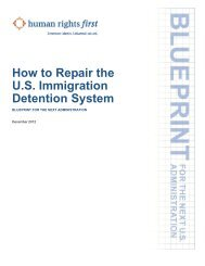 BLUEPRINT: How to Repair the U.S. Immigration Detention System