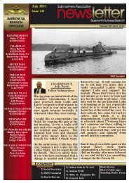 July 11 - Barrow Submariners Association