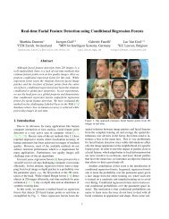 Real-time Facial Feature Detection using Conditional Regression ...