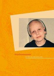 Knochentumoren - Österreichische Kinder-Krebs-Hilfe
