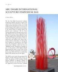 abu dhabi international sculpture symposium 2010 - Contemporary ...