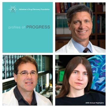 Annual Report (PDF) - Alzheimer's Drug Discovery Foundation