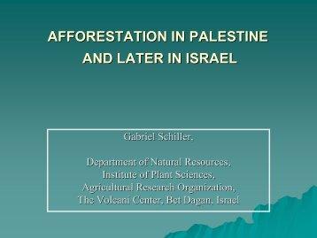 Schiller afforestation_in_Palestine_Israel.pdf - Forest Management ...
