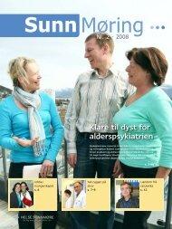 Klare til dyst for alderspsykiatrien - St. Olavs Hospital