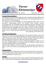 Kleinanzeiger 16/2011 (303 KB) - .PDF