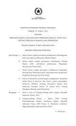 Peraturan Presiden No.70 Tahun 2012 - BNPB