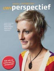 Perspectief oktober 2011 - UWV Perspectief