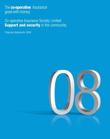 Financial Statements 2008 (PDF - 0.3MB) - The Co-operative ...