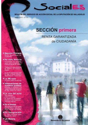 Revista Sociales - Mayo 2011 - Diputación de Valladolid