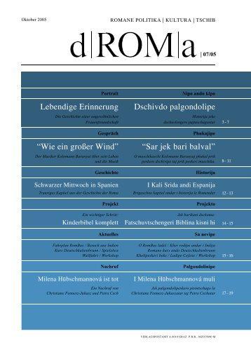 Download d ROM a 07, Oktober 2005 als PDF - Roma-Service