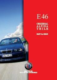 E46 Parts & Accessory - BMW Alpina