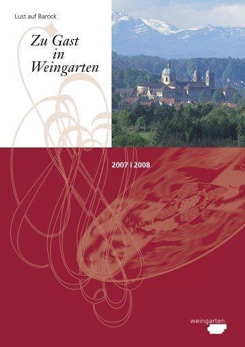 Zu Gast in Weingarten 2007 | 2008 - Stadt Weingarten