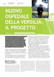 NUOVO OSPEDALE DELLA VERSILIA: IL PROGETTO - TXTmagazine