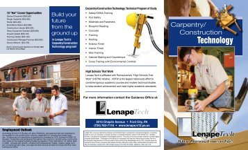Download Brochure - Lenape Tech