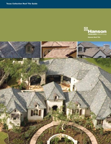 Texas Collection Roof Tile Guide - Hanson Roof Tile